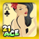 iPhone/iPadアプリ「21 Ace - The Poker Alternative」のアイコン